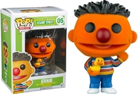 Sesame Street - Ernie (Flocked) Pop! Vinyl Figure