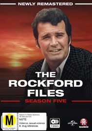 The Rockford Files: The Complete Season 5 on DVD