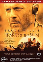 Tears Of The Sun on DVD
