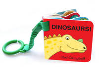 Dinosaur Shaped Buggy Book by Rod Campbell image