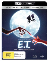 E.T. - The Extra-Terrestrial on UHD Blu-ray