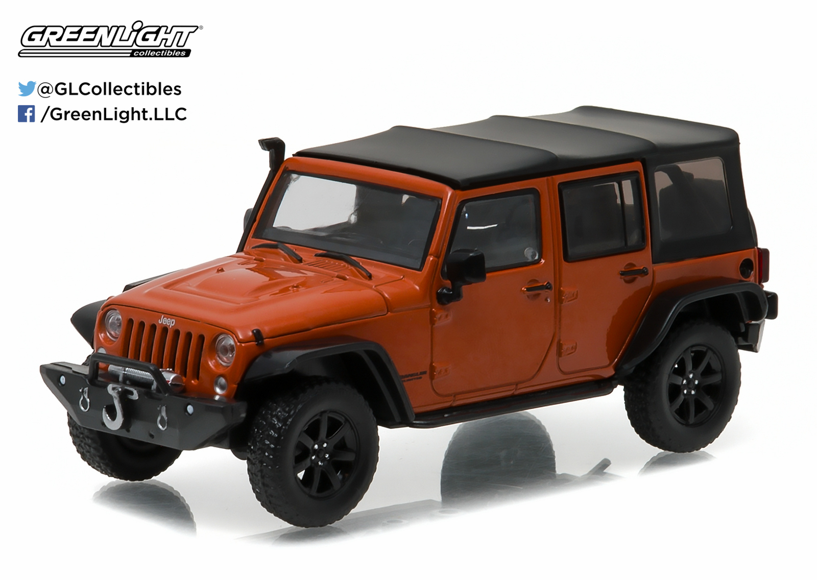 1/43: Jeep Wrangler with Snorkel - Diecast Model image