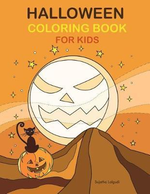 Halloween Coloring Book for Kids by Sujatha Lalgudi