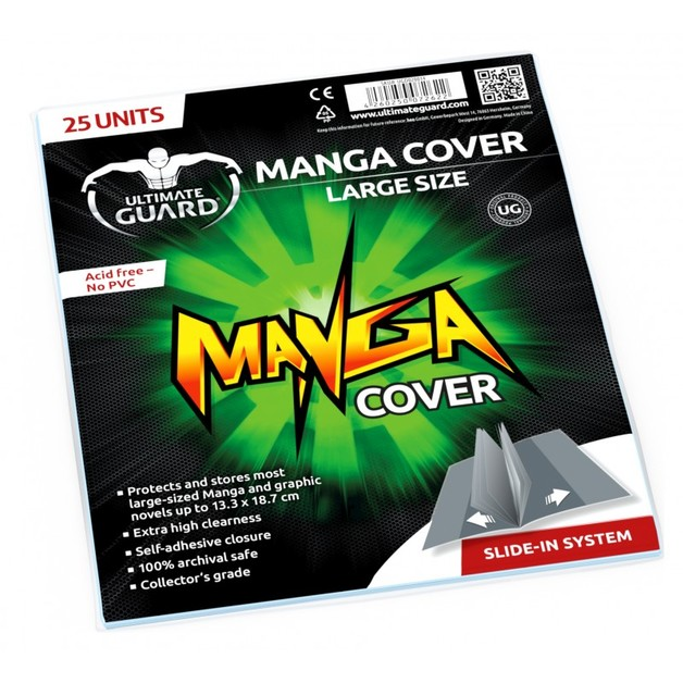 Ultimate Guard: Manga Covers - Large (25-Pack)