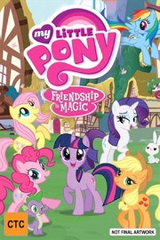 My Little Pony: Friendship Is Magic - What Lies Beneath on DVD