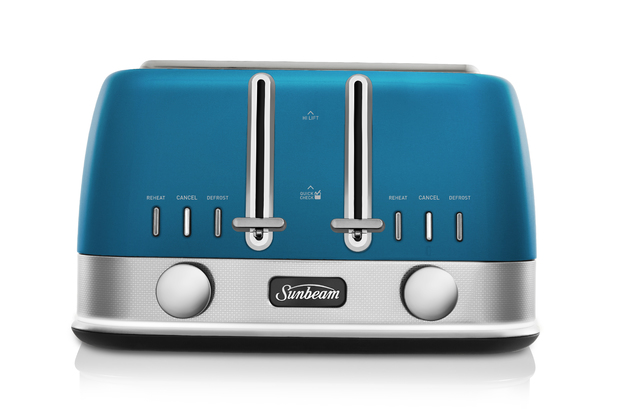 New York Collection 4SL Toaster - Cerulean Blue Skyline