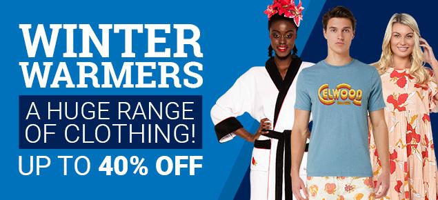 Winter Warmers Sale!