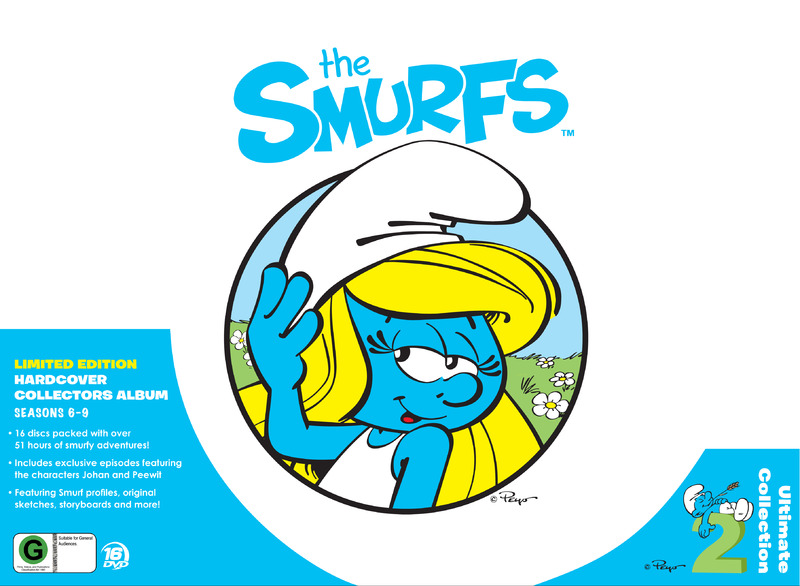 Smurfs Ultimate Collection 2 (Limited Edition) on DVD image