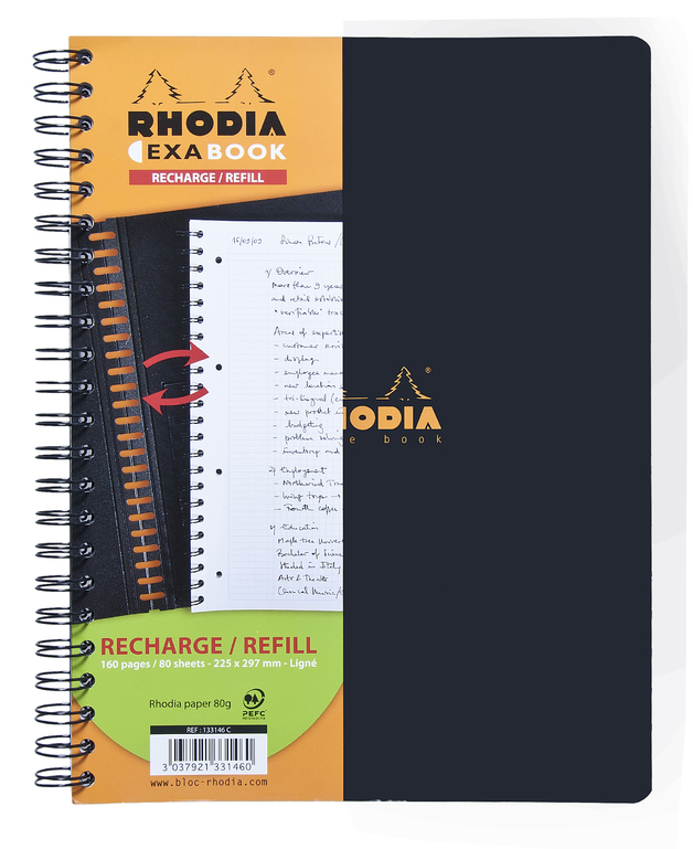 Refill for Rhodia A4+ Exabook - Lined