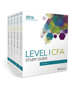 Wiley Study Guide for 2016 Level I CFA Exam: Complete Set by Wiley