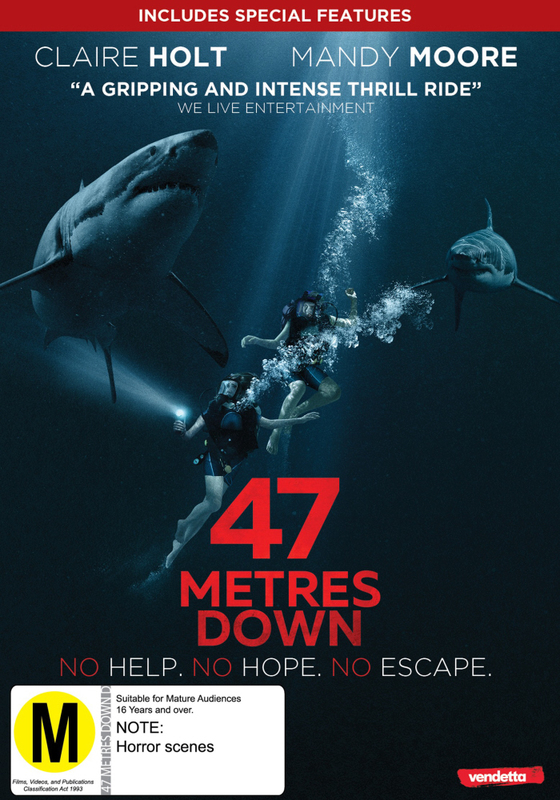 47 Meters Down on DVD