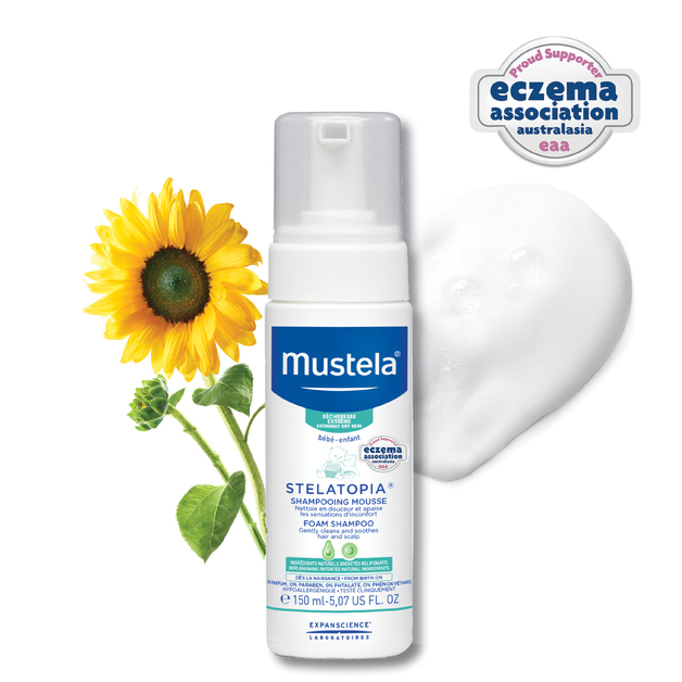 Mustela: Stelatopia Newborn Foam Shampoo - 150ml