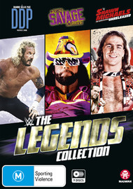 WWE: The Legends Collection on DVD image