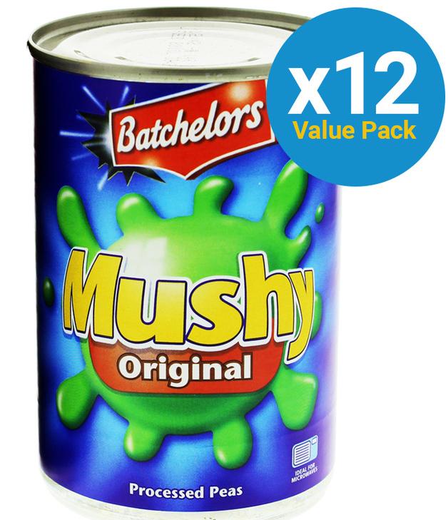 Batchelors: Mushy Peas Original (12 x 300g)