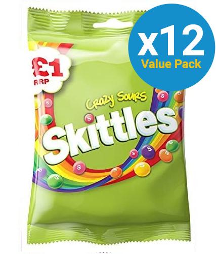 Skittles Sour Pouch (125g x 12pk)