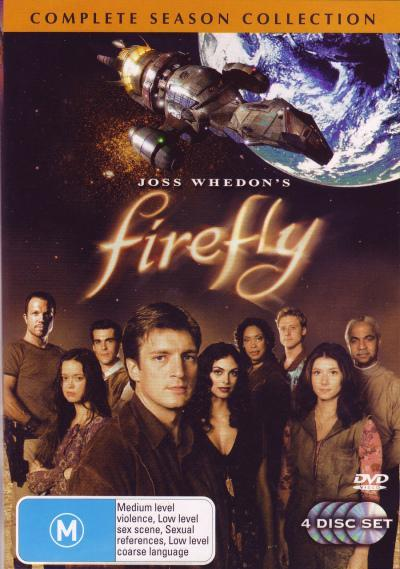 Firefly - Complete Series (4 Disc Set) on DVD image