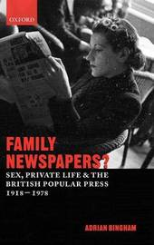 Family Newspapers? by Adrian Bingham