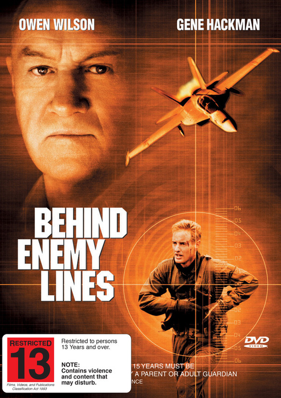 Behind Enemy Lines on DVD