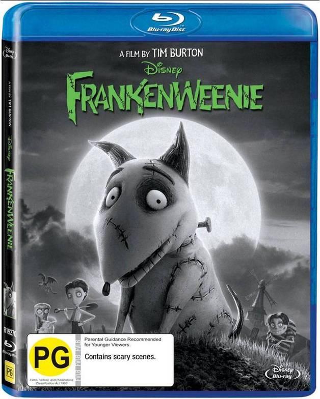 Frankenweenie on Blu-ray