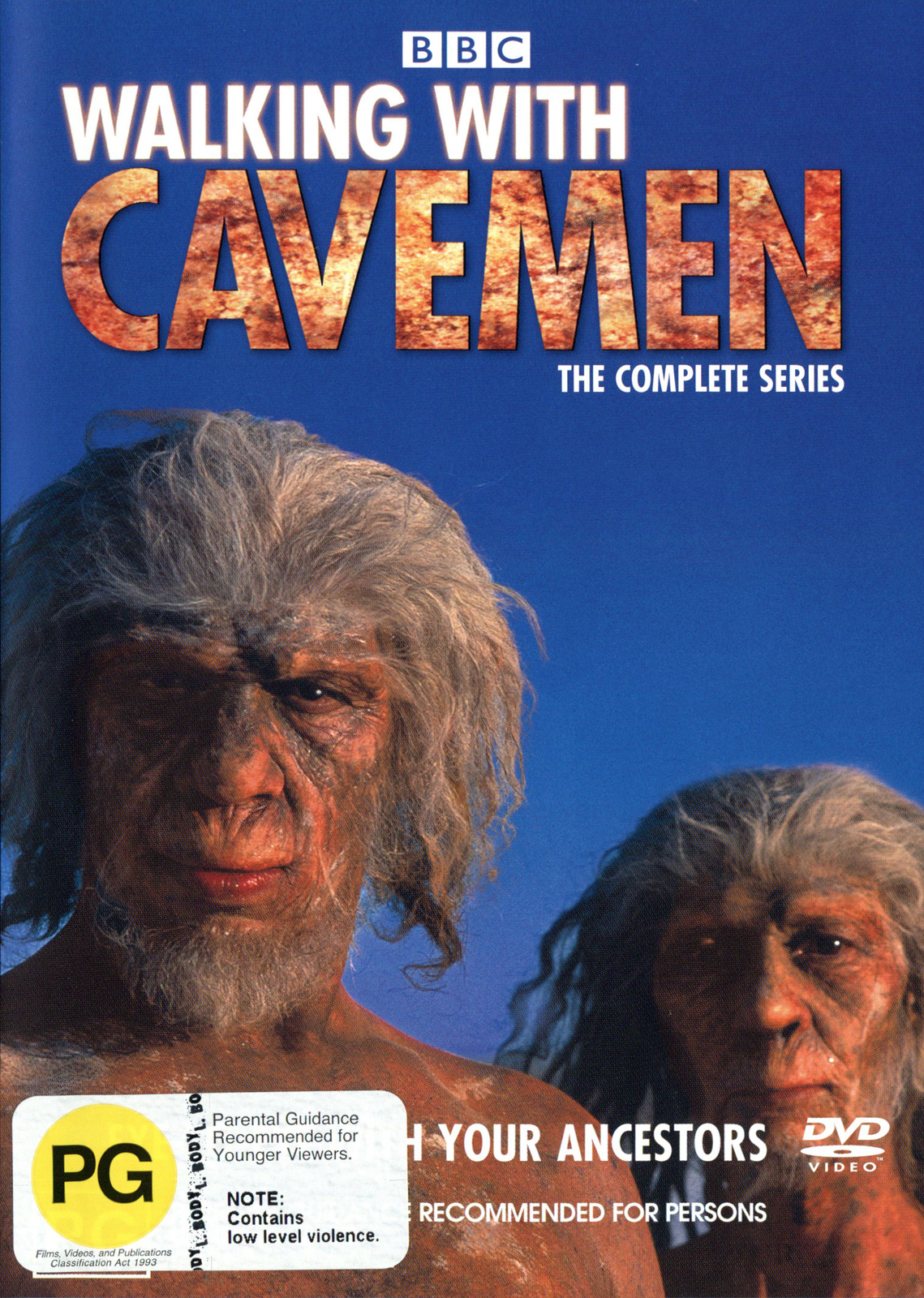 Walking With Cavemen - The Complete Series on DVD image