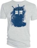 Doctor Who Modern Art TARDIS Men's T-Shirt (XXL)