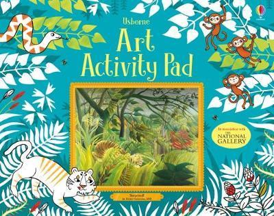 Art Activity Pad by Lara Bryan