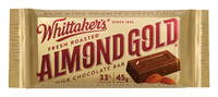 Whittakers Almond Gold Slab (50g, 50pk)