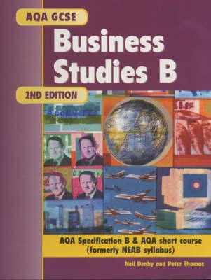 AQA GCSE Business Studies B by Neil Denby image