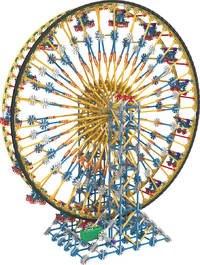 K'NEX Classic Ball Machine (Plus 3 Ft Ferris Wheel) image