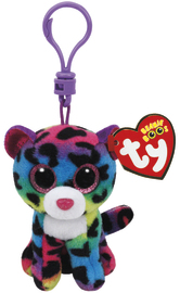 Ty Beanie Boos: Dotty Leopard - Clip On Plush image