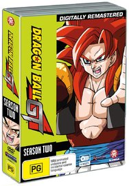 Dragon Ball GT Remastered Uncut Season 2 & Movie (5 Disc Set) on DVD image
