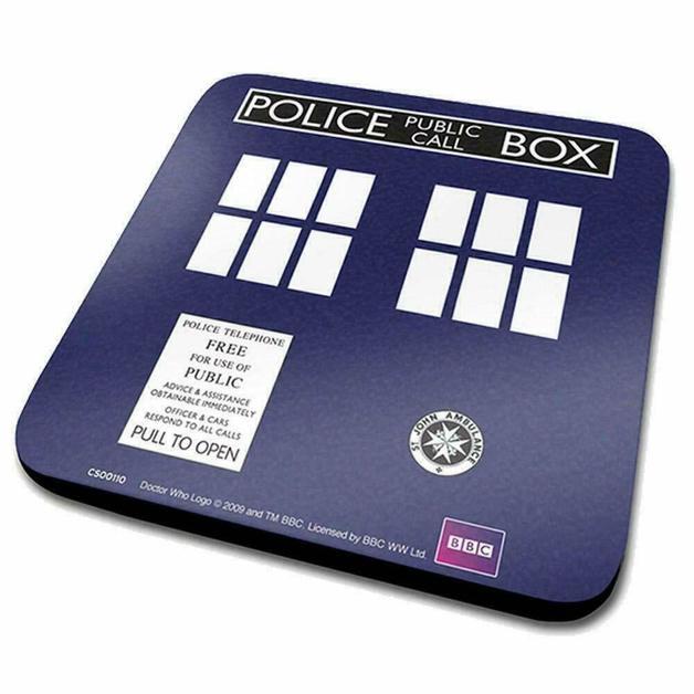 Doctor Who: Coaster Tardis Case (6)