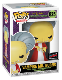The Simpsons - Mr Burns (as Dracula) Pop! Vinyl Figure image