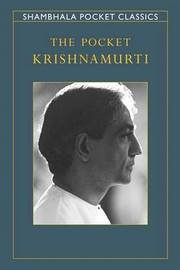 The Pocket Krishnamurti by Jiddu Krishnamurti image