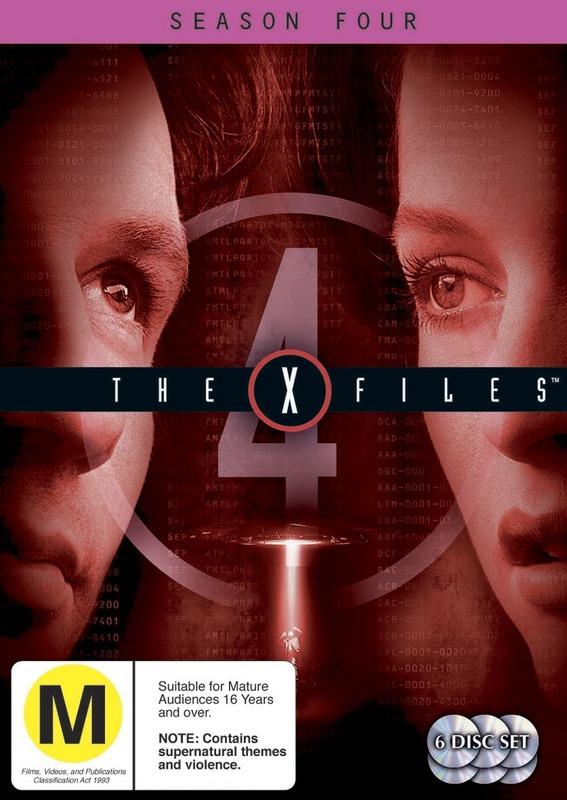 The X-Files - Season 4 (6 Disc Set) on DVD