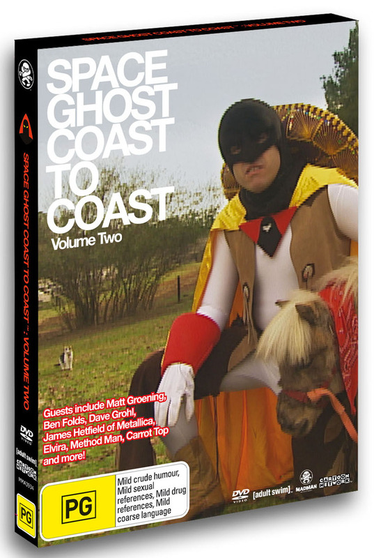 Space Ghost - Coast To Coast: Volume 2 on DVD