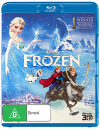 Frozen 3D on 3D Blu-ray