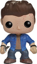Supernatural Dean Winchester Blood Splatter Pop! Vinyl Figure