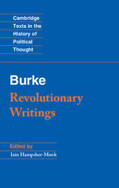 Cambridge Texts in the History of Political Thought by Edmund Burke