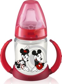 NUK: Mickey - Training Bottle (150ml) - Red