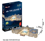 3D Xlarge - The Louvre