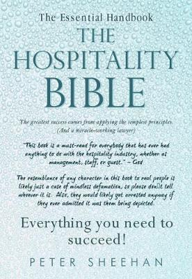 The Hospitality Bible by Peter Sheehan image