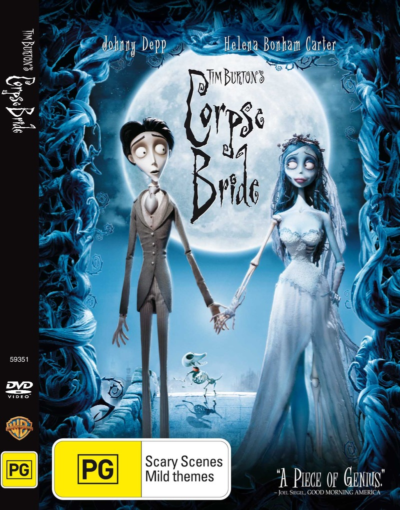 Tim Burton's Corpse Bride on DVD image