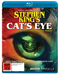 Stephen King's - Cat's Eye on Blu-ray