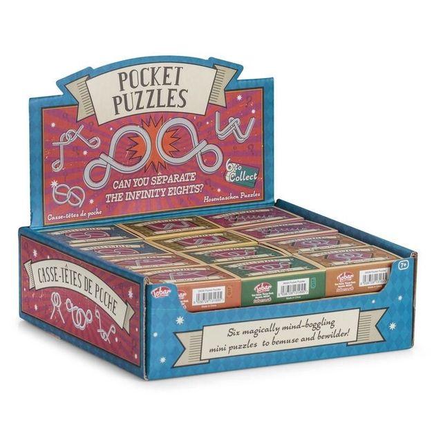 Tobar: Pocket Puzzle - (Assorted Designs)
