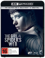 The Girl In The Spider's Web on UHD Blu-ray