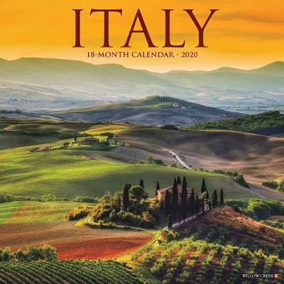Italy 2020 Wall Calendar by Willow Creek Press