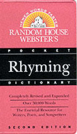 Random House Webster's Pocket Rhyming Dictionary by Random House Inc image