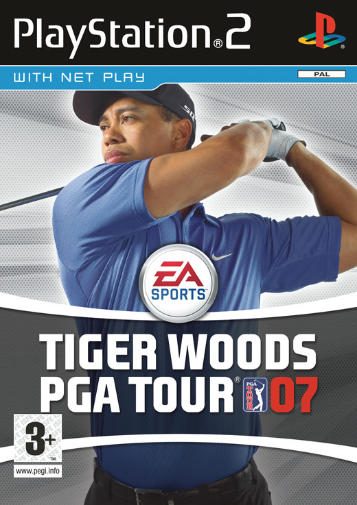 Tiger Woods PGA Tour 07 for PS2