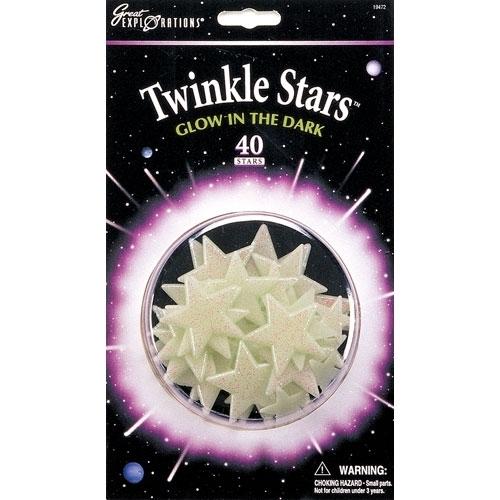 Glow in the Dark Twinkle Stars